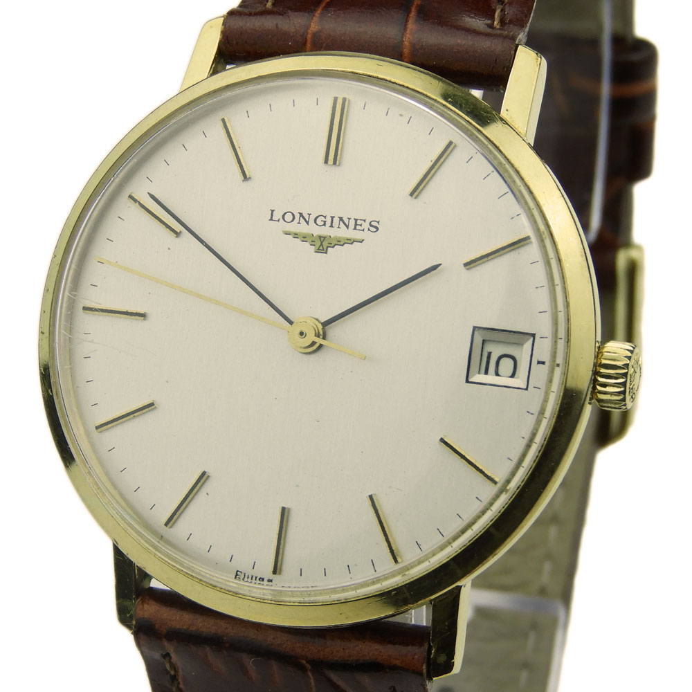 Longines Gold Plated Vintage Mechanical