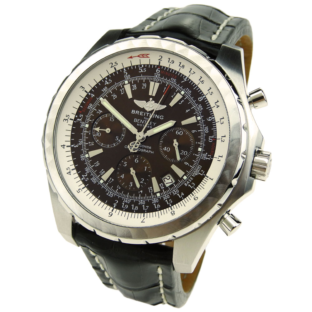 Breitling Bentley Leather Band: Breitling Bentley Motors T A25363