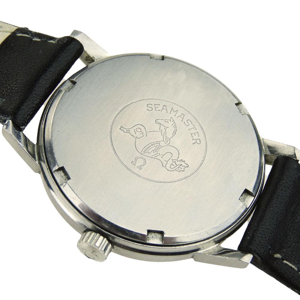 omega seamaster vintage mechanical parkers jewellers. Black Bedroom Furniture Sets. Home Design Ideas