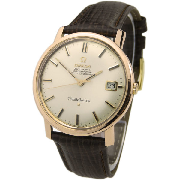 Omega Constellation Rose Gold Cap Automatic