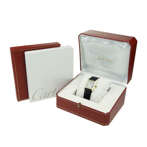 Cartier Tank Louis 18k Quartz
