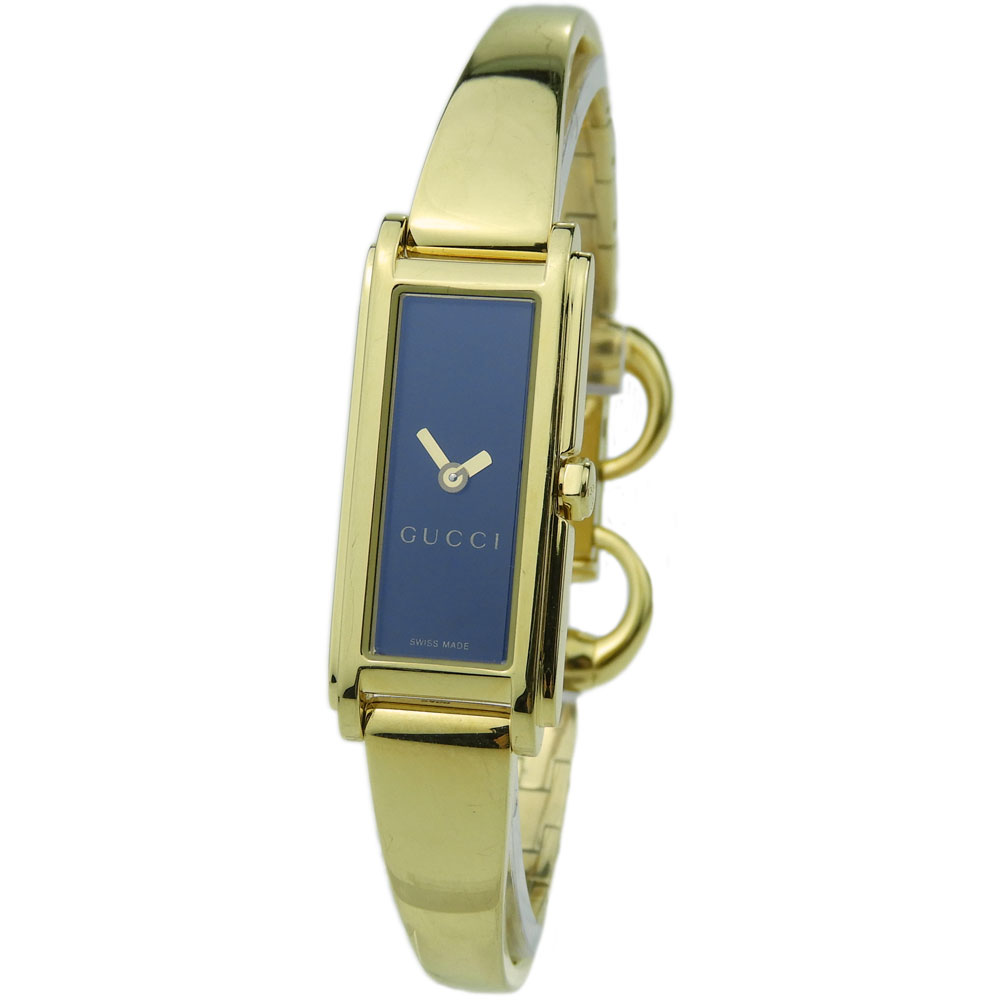 e674a46d9 Gucci G-Line Ladies Gold Plated Quartz - Parkers Jewellers