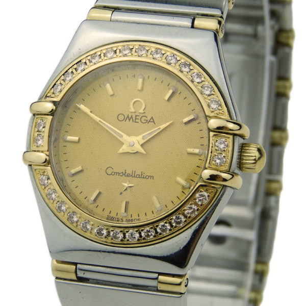 Omega Constellation Mini Ladies Steel & Gold 1362.10.00