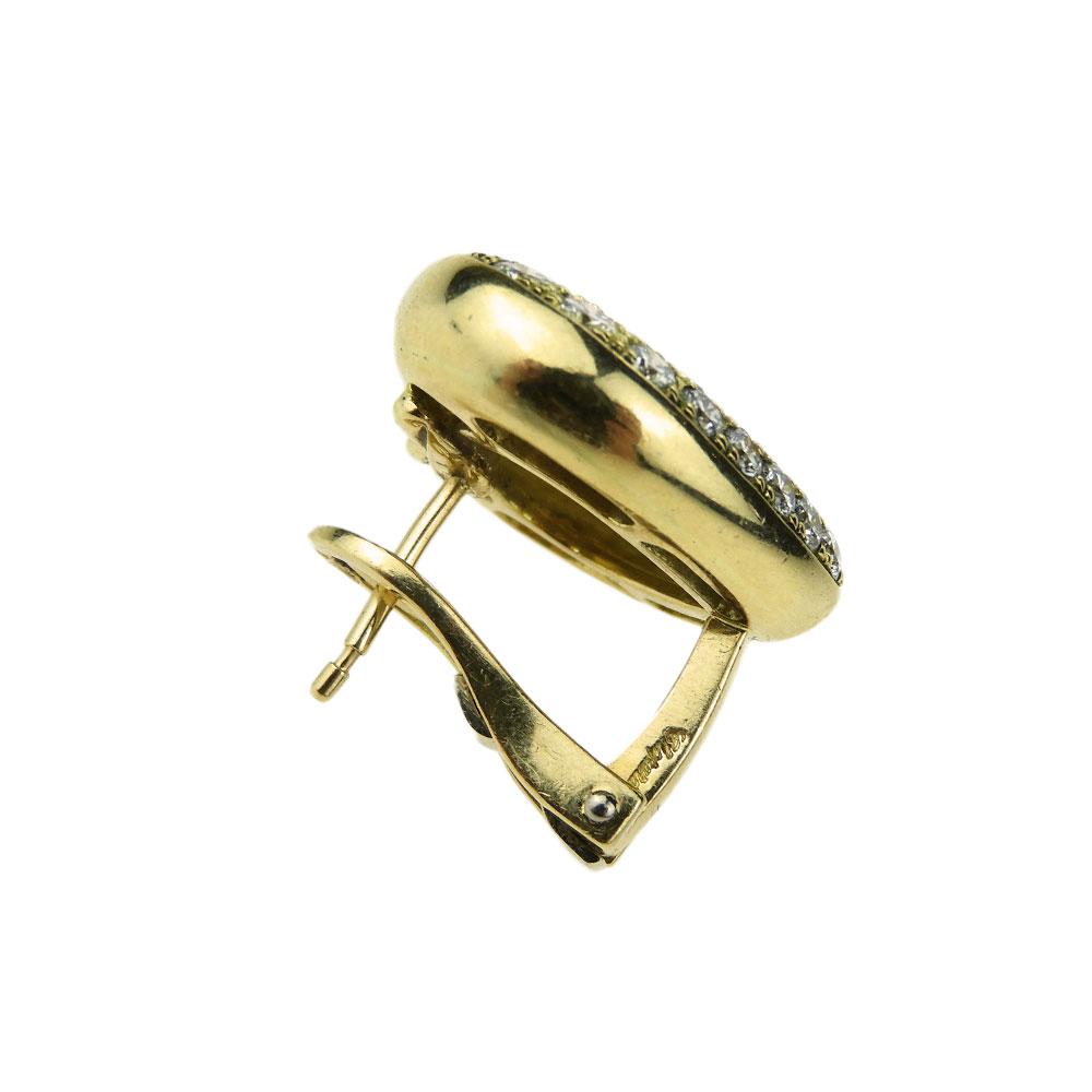 Chopard Happy Diamond Heart Earrings