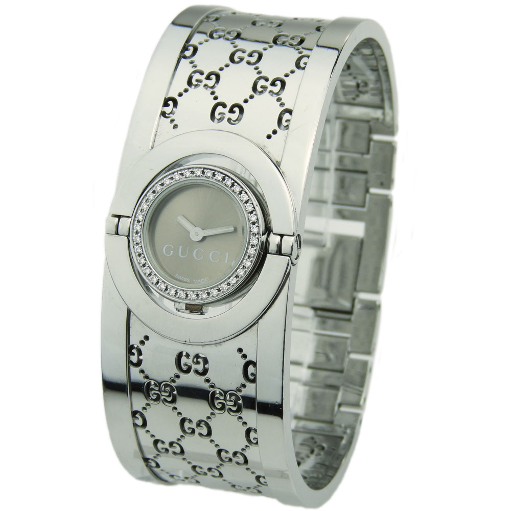 2f451a4a408 Gucci Twirl Ladies YA112504 - Parkers Jewellers