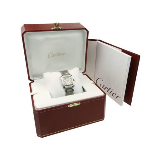Cartier Lady Tank Francaise Quartz W51012Q4