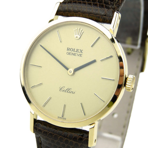 Rolex Cellini 18k Mechanical 4109