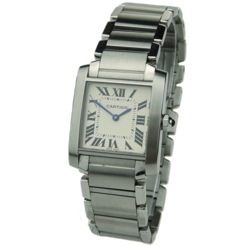 Cartier Tank Francaise Mid Size WSTA0005