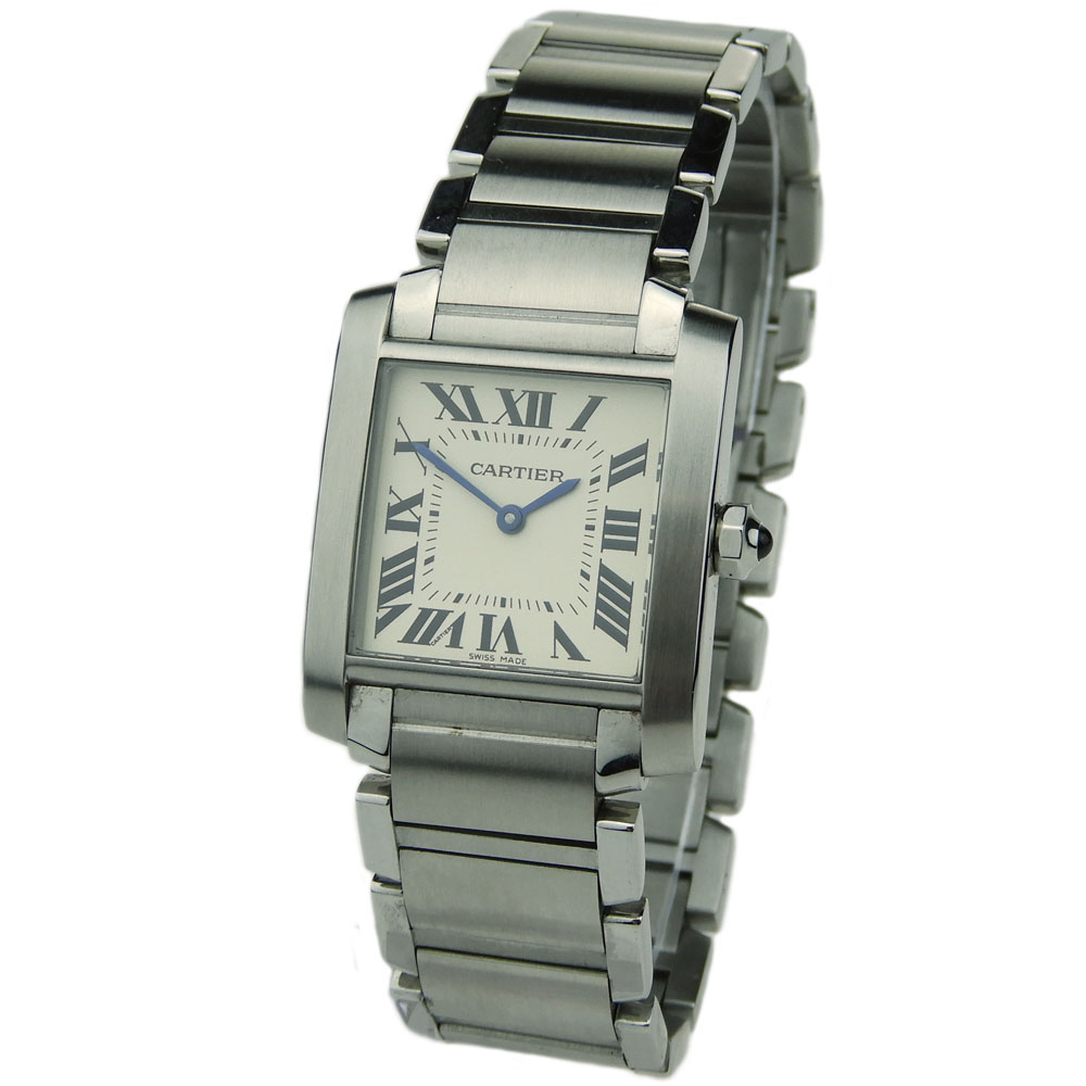 bdcaac813d3 Cartier Tank Francaise Mid Size WSTA0005 - Parkers Jewellers