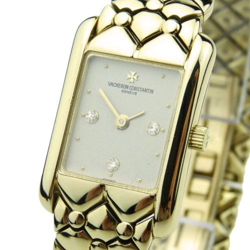 Vacheron Constantin Ladies 18k Gold Quartz