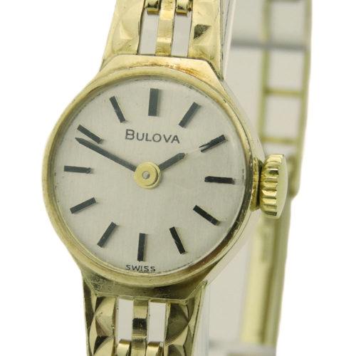 Bulova Ladies 9ct Vintage Mechanical