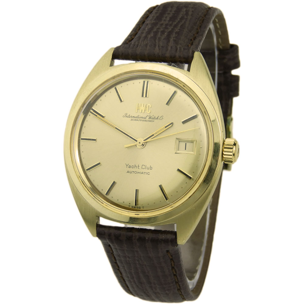 22586ab0888 IWC Yacht Club 18k Vintage Automatic - Parkers Jewellers