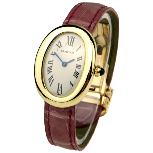 Cartier Baigonoire Ladies 18k Quartz 1954