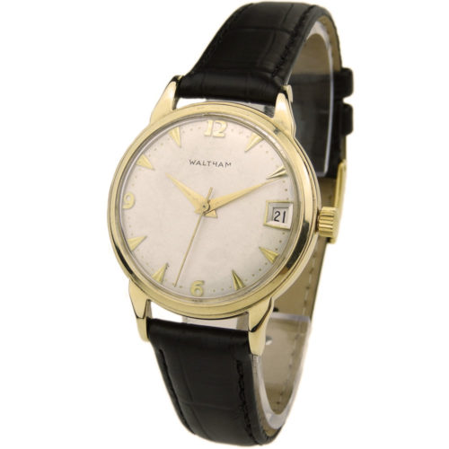 Waltham 9ct Gold Vintage Automatic