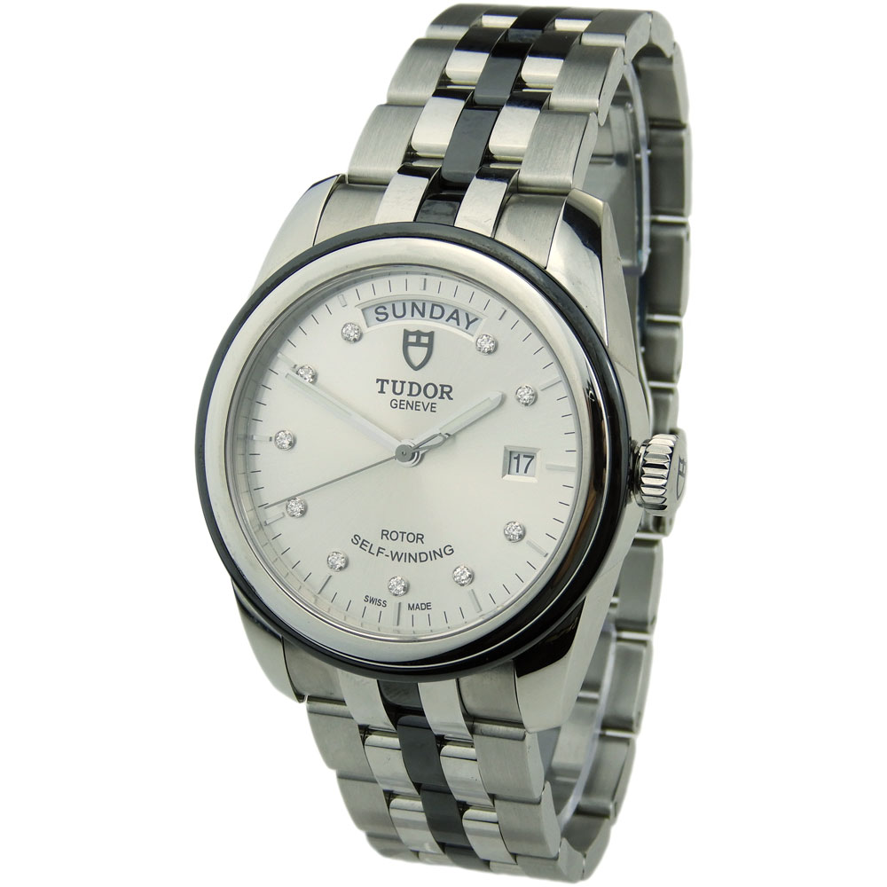 3cfa638290 Tudor Glamour Day-Date 56010N - Parkers Jewellers
