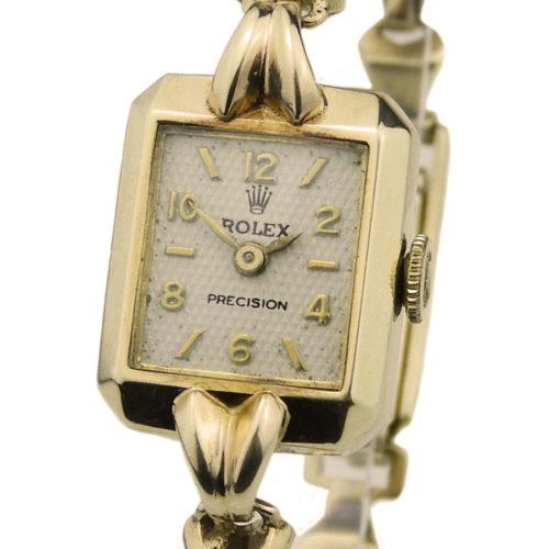 Rolex Precision 9ct Vintage