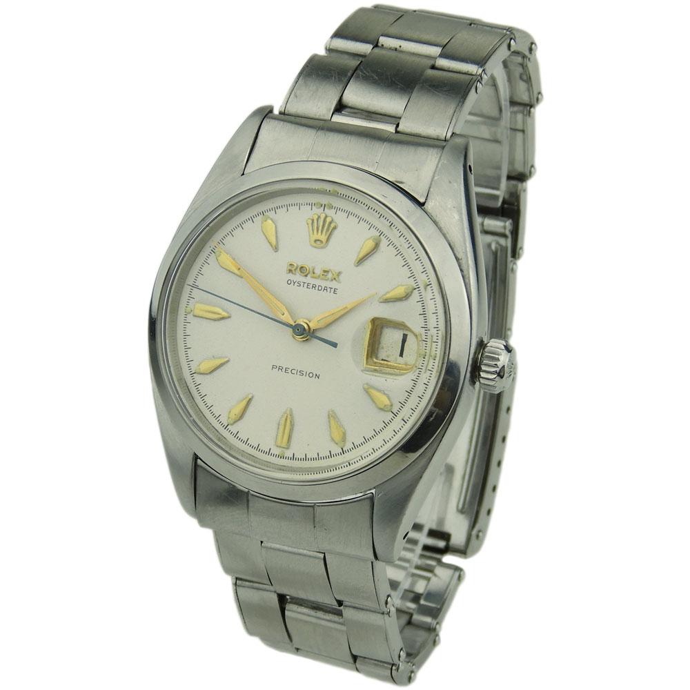 Tudor Classic Platinum: Rolex Oysterdate Precision 6494