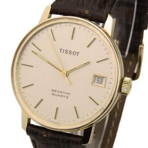 Tissot 9ct Gold Quartz