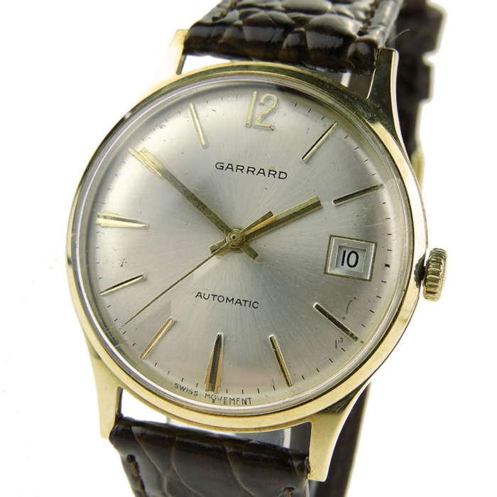 Garrard 9ct Gold Vintage Automatic