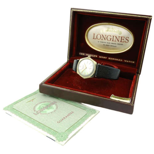 Longines Vintage 10k Gold Filled Mechanical
