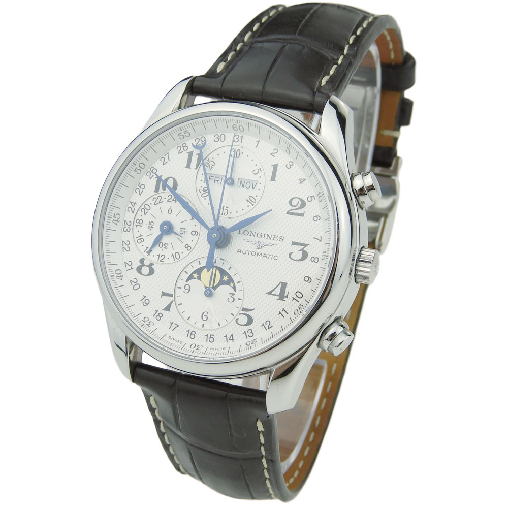 e0571a9ed65 Longines Day Date Master Collection L2.673.4.78.3 - Parkers Jewellers