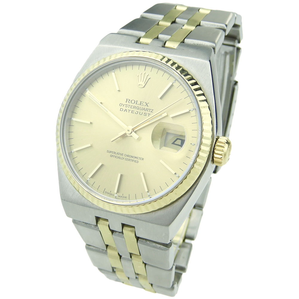 936ca53a5d5 Rolex Oysterquartz Datejust 17013 - Parkers Jewellers