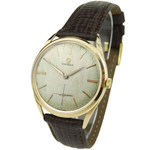 Omega 18k Rose Gold Vintage Mechanical 12280