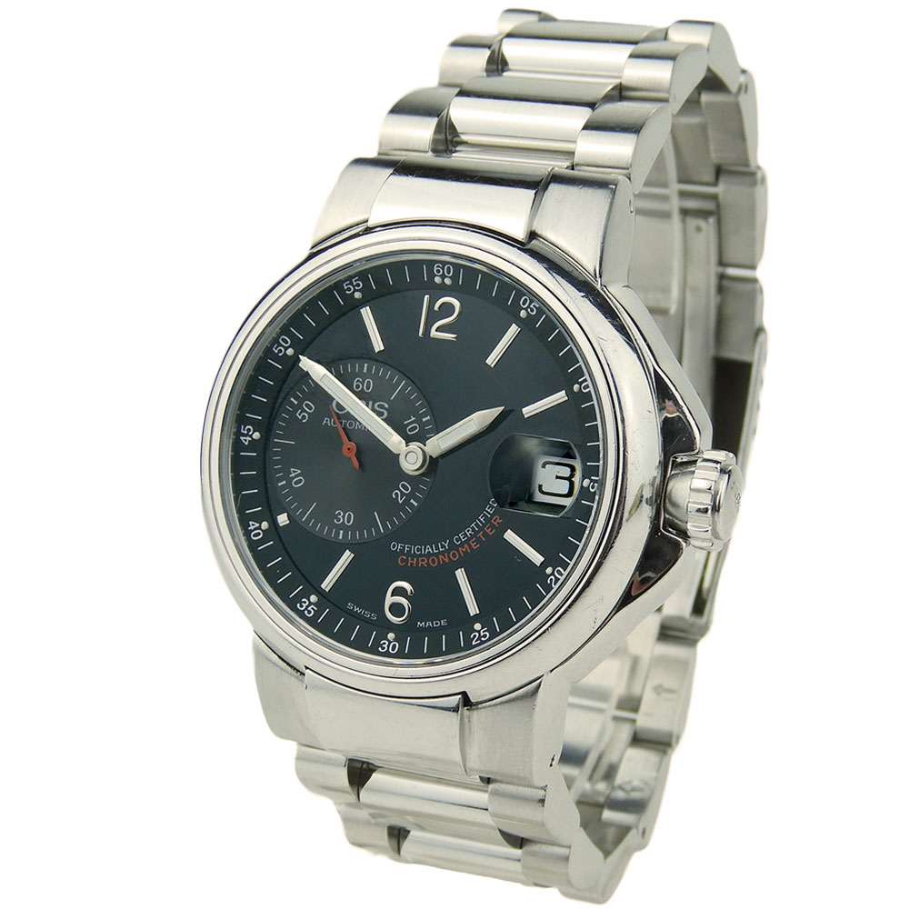 e9601681249 Oris Small Seconds Steel Automatic 7496 - Parkers Jewellers