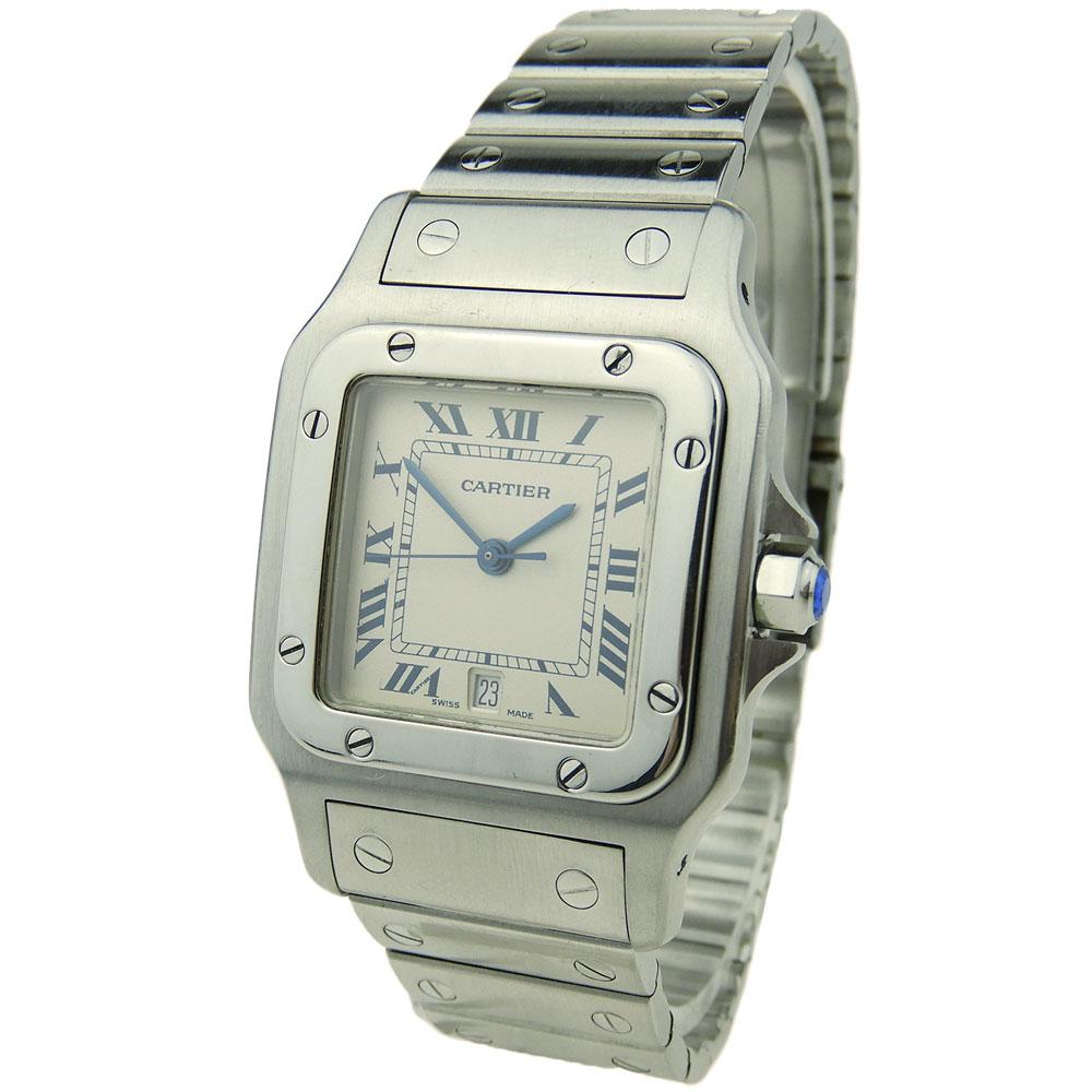 039ff5ee637 Cartier Santos Galbee Steel Quartz W20060D6 - Parkers Jewellers
