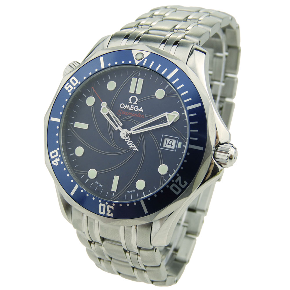 fe83bf498ad Omega Seamaster James Bond 007 2226.80.00 - Parkers Jewellers