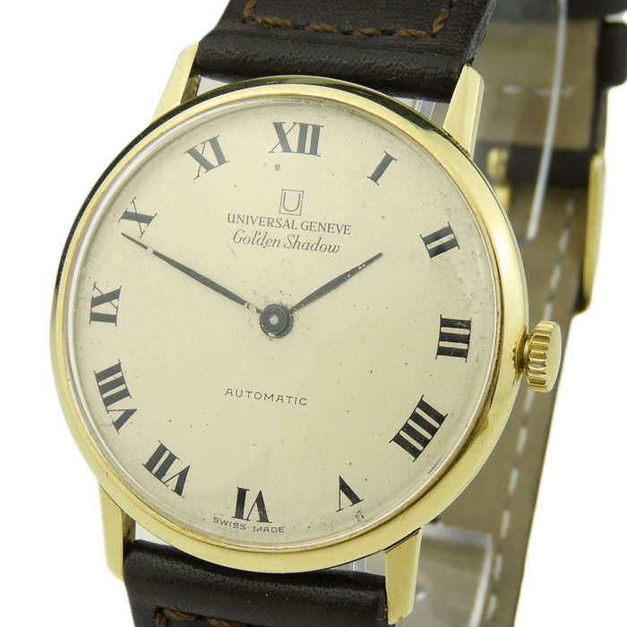 Universal Geneve Golden Shadow 18k Automatic 166111/03