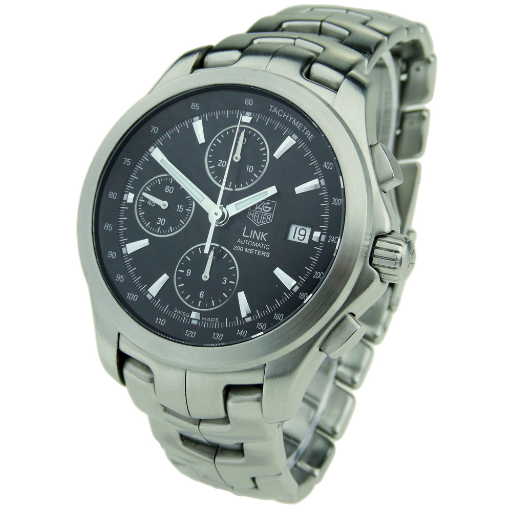 b32997cde92b Tag Heuer Link Chrono Automatic CJF2110 - Parkers Jewellers