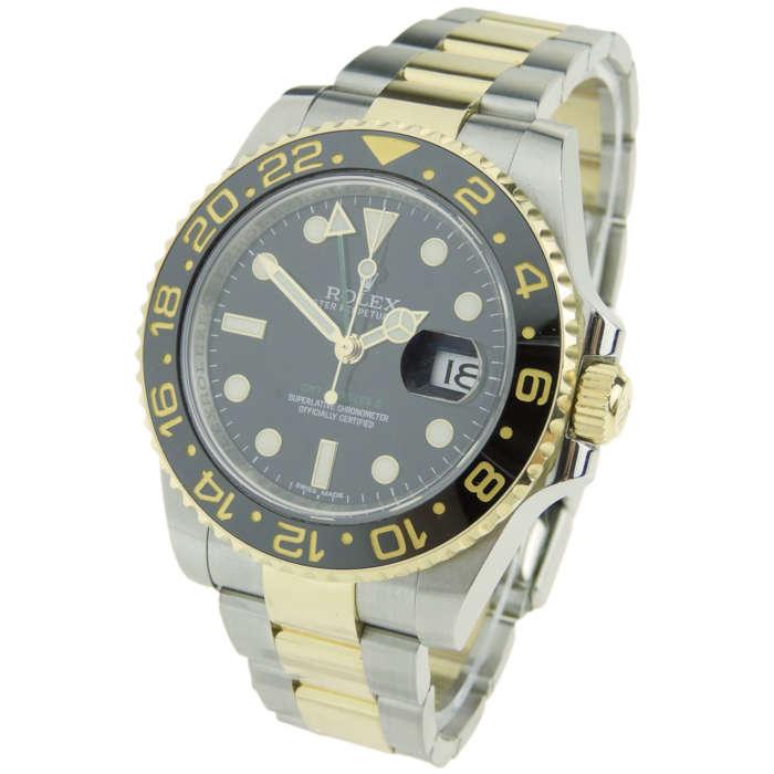 Rolex GMT-Master II Steel & Gold 116713 LN