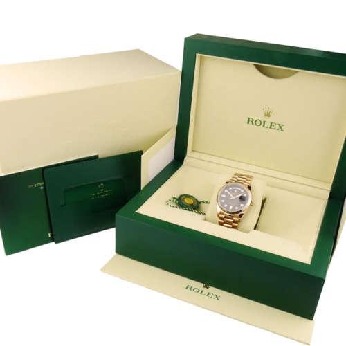 Rolex Day-Date 36 Rose Gold 128235
